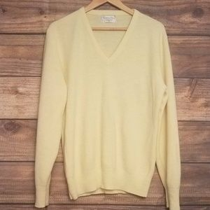 Super soft vintage Dior v-neck sweater